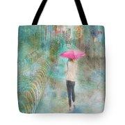 Rainy In Paris 3 Tote Bag
