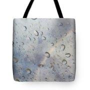 Rainy Rainbow Tote Bag