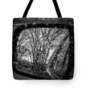 Rainy Reflections Tote Bag