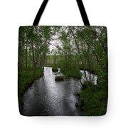 Rainy River. Koirajoki Tote Bag