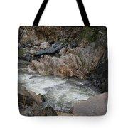 Rainy Rocky Rapids Tote Bag