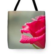 Rainy Rose Tote Bag