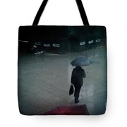 Rainy Whether In London. Tote Bag