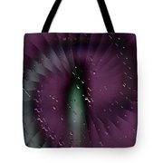 Rainy Window Tote Bag