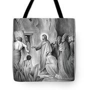 Raising Lazarus Tote Bag