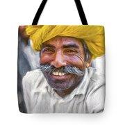 Rajput High School Teacher - Paint Tote Bag