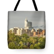 Raleigh Nc Panoramic Tote Bag