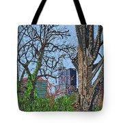 Raleigh - View From Chavis Park Tote Bag