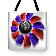Rally Round The Flag Tote Bag