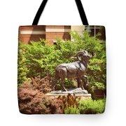Ram Statue Tote Bag