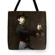 Ramon Casas - Self-portrait  2 Tote Bag