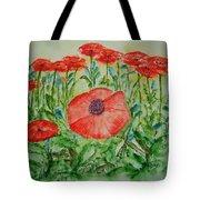 Ramonas Poppies Tote Bag