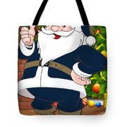 Rams Santa Claus Tote Bag