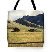 Ranch Along Tom Miner Road Tote Bag