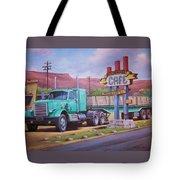 Ranch House Truckstop. Tote Bag