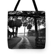 Ranch Life Bw Tote Bag