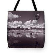 Ranch Pond New Mexico Tote Bag