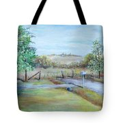 Ranch Rd Tote Bag