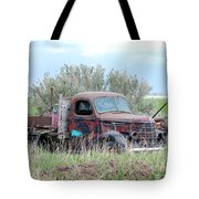 Ranch Truck Tote Bag