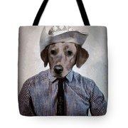 Rancher Dog Tote Bag
