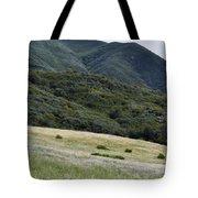 Rancho Sierra Vista Satwiwa Mountains Portrait Tote Bag