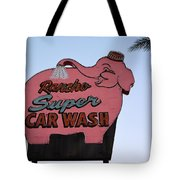 Rancho Super Car Wash  Tote Bag