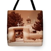 Ranchos De Taos Church   New Mexico Tote Bag