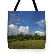 Randolph County Evening Storms Tote Bag