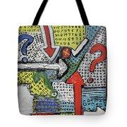 Random Art Tote Bag