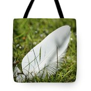 Random Feather Tote Bag