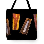 Random Letters Forming The Word Joyous Tote Bag