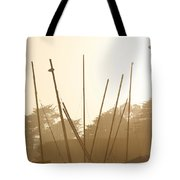 Random Masts Tote Bag