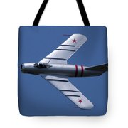 Randy Ball's Mig-17f Banking Left Tote Bag