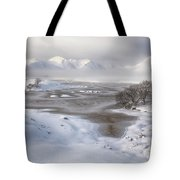 Rannoch Moor Winter Tote Bag