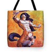 Ranting Centaur Tote Bag