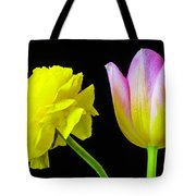 Ranunculus And Tulip Tote Bag