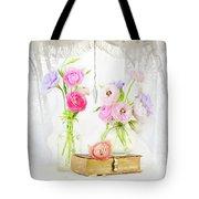 Ranunculus In Window Tote Bag