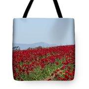 Ranunculus Red Tote Bag