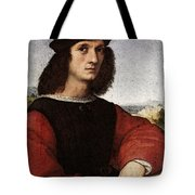 Raphael Portrait Of Agnolo Doni Tote Bag