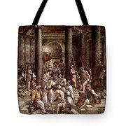 Raphael The Baptism Of Constantine Tote Bag