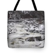 Rapids At Bull's Bridge 1 Tote Bag