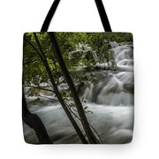 Rapids In Forest  Tote Bag