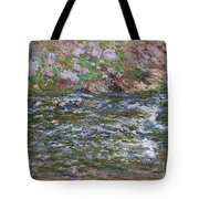 Rapids On The Petite Creuse At Fresselines, 1889 Tote Bag