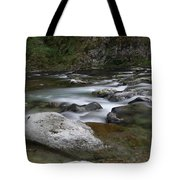 Rapids On The Washougal River Tote Bag