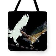 Raptor And His Soul Tote Bag