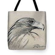 Raptor Two Tote Bag