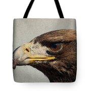 Raptor Wild Bird Of Prey Portrait Closeup Tote Bag