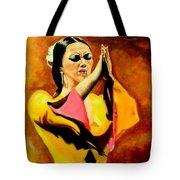Raquel Heredia - Flamenco Dancer Sold Tote Bag
