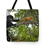 Rare Golden Monkey Tote Bag