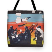 The Colour Of War Tote Bag